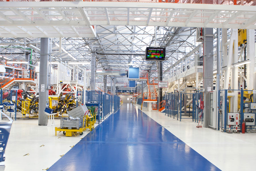 Industrial and manufacturing cleaning services